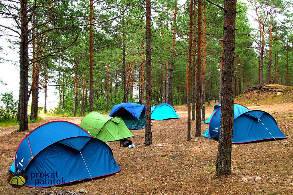 Палаточный лагерь
