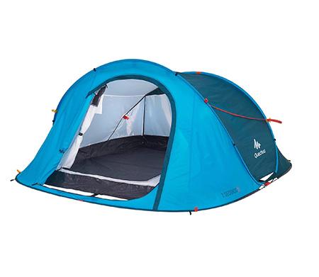 Трёхместная автоматическая палатка Quechua 2Seconds Easy 3