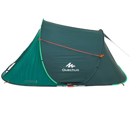 Двухместная автоматическая палатка Quechua 2Seconds Easy 2