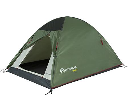 Двухместная палатка Outventure Dome 2